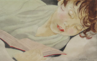 A Child Reading