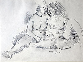 Moses soyer drawing