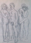 Two Nude Couples